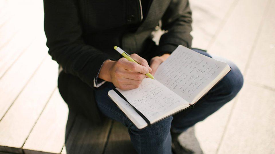 Moleskine_paper+writing